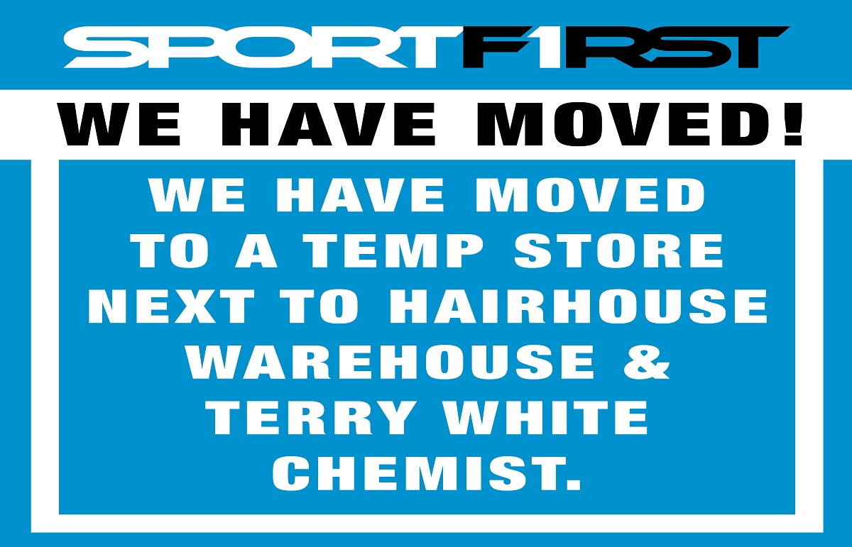 Sportsfirst We have moved !